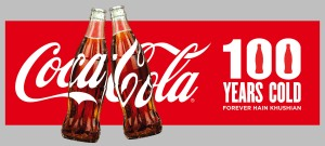 Coke 100 Years - Image 1